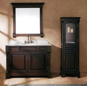 freestanding vanity for manufactured homes