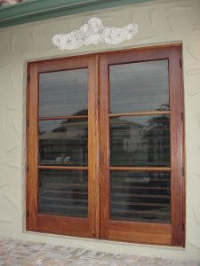 wood patio doors for manufactured home