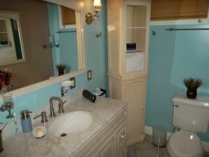 manufactured home master bathroom vanity
